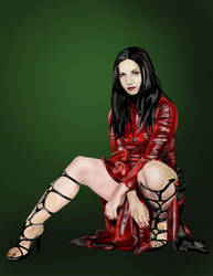 Cristina from Lacuna Coil by MyPantsAreMissing