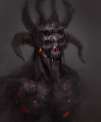 Rotting-demon sketch by TatarskiSkandal