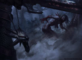 Witcher Fanart by TatarskiSkandal
