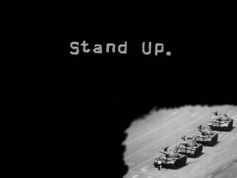 stand up. by zhuangshi