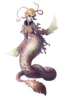 Mermaid by stringmouse