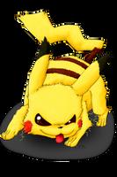 Pikachu by panicYoYo