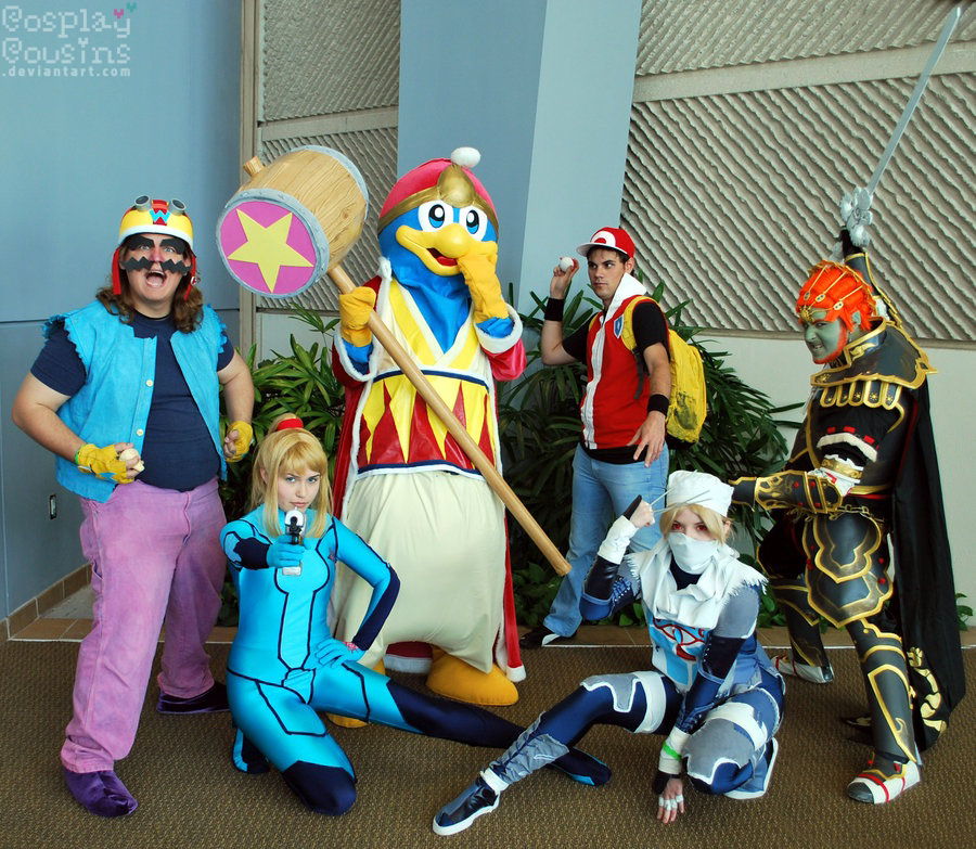 Nintendo Friends by CosplayCousins