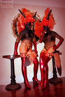 Fire Twins by CosplayCousins