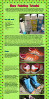 Shoe Painting Tutorial by CosplayCousins