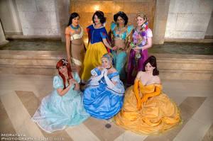 Disney Princesses by CosplayCousins