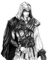 Ezio Auditore da Firenze by hazardous-bastard