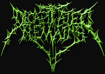 Decapitated Remains Logo by hugothall