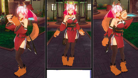 Custom Maid 3D 2 - Caster - Fate/Extra - Mod by RyuumaBrunestud