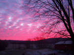 January Sunrise on the Farm by mrcbax