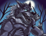 .:Twisted Wolf:. by JuliArt15