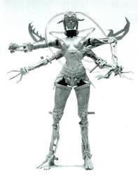 Spider Gal by LocascioDesigns
