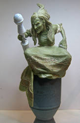 Fables, Baba Yaga wip by LocascioDesigns