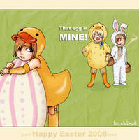 Easter Eggs Hunt by Hachiko8