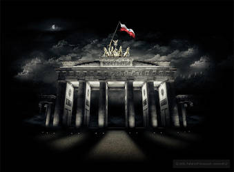The Flag in Berlin by RAFi-PL