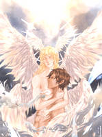 Akira x Ryo [DEVILMANcrybaby] by James-Isabella