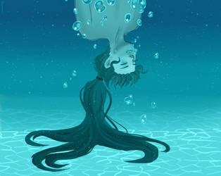 Drowning by ren0mi
