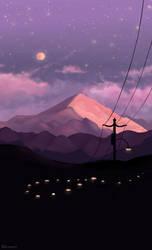 Magic night by ren0mi