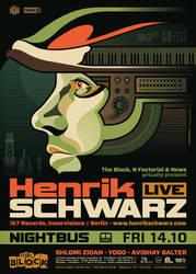 Nightbus: Henrik Schwarz by prop4g4nd4