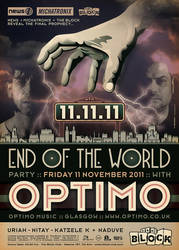 Optimo 11.11.11 at The Block by prop4g4nd4