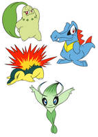 Pokemon Caricatures 3 by Jackster3000