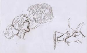 Quick Pencil Sketch by ticklegas