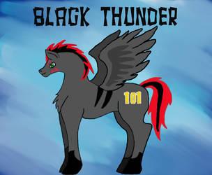 Black Thunder by LadyDemmona