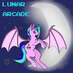 *New* Lunar Arcade ref sheet by LadyDemmona