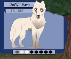Fallon - YA - Havir by LittleRed06