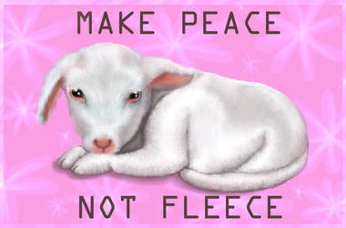 Make peace not fleece by flash-gordonette