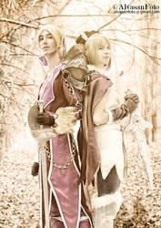 Raphael and Scheherazade~ S.C by Dantedart