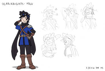 OcariKnights Concept Art : Milu by MJopaArtist