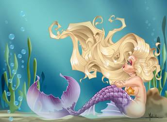 Sad Sirena by malberri