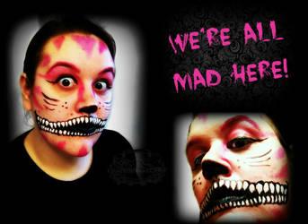 Mad Cheshire by CrazedByCalliope