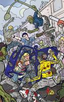 Zombie Attack by ljamalwalton