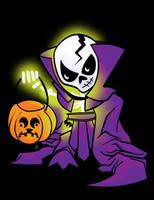 Scare Glow : The Ghost of Skeletor by ljamalwalton