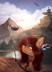 [Art Trade] Trail of tears by Shadow-Nights
