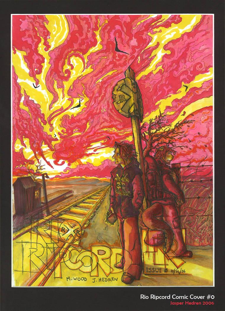 Rio Ripcord comic cover 0 by arracraidira