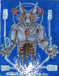 God of Binary by arracraidira