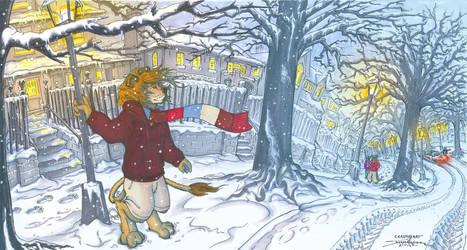 Lion In Winter by arracraidira