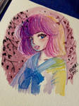 Girl with the short hair by kaiou080790