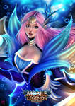 Odette: Mermaid Princess Fanart by kaiou080790