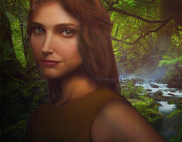 Real life - Jane Porter by Nikmarvel
