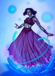 Blue Moon Sorceress by Andi-the-Duke