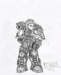Heavy Battlesuit MK6 by Mech-Inc