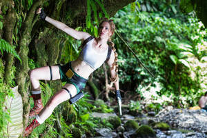 Tomb Raider III Level: Coastal Village by LuceCosplay