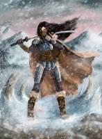 Karacterz card Katana #2 by Fuytski