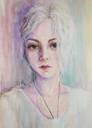 white girl by Fuytski
