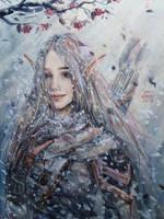 Elven Huntress by Fuytski