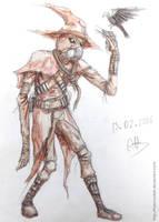 [DC] Scarecrow by Hiaennyddei